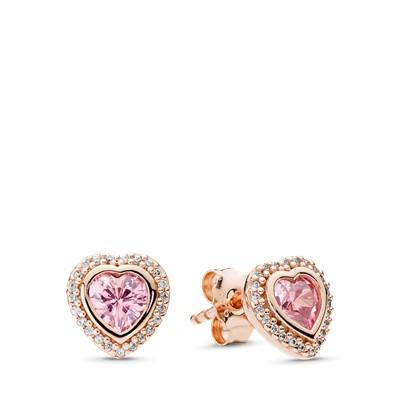 Pandora Rose Sparkling Love Earrings Earrings Earrings Pandora