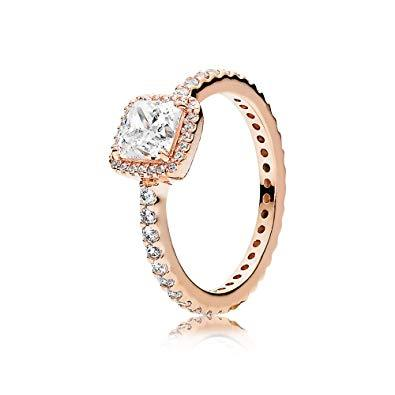 Pandora Rose Timeless Elegance Ring Size 5 1/4 Rings Pandora