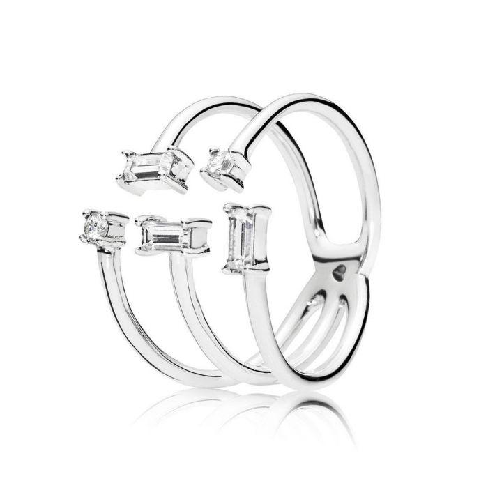 Pandora Shards of Sparkle Ring, Size 7 Rings Pandora