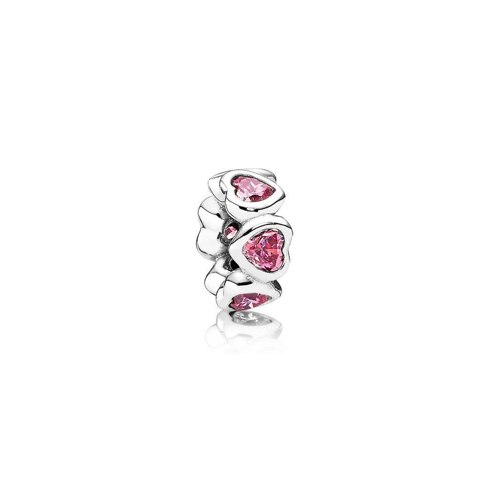 Pandora Space in My Heart Spacer Charm Charms & Pendants Pandora