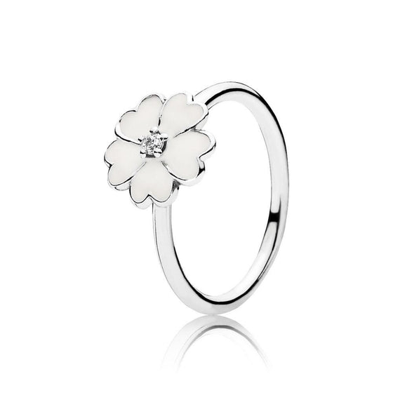Pandora Stackable Primrose Ring, Size 5 1/4 Rings Pandora
