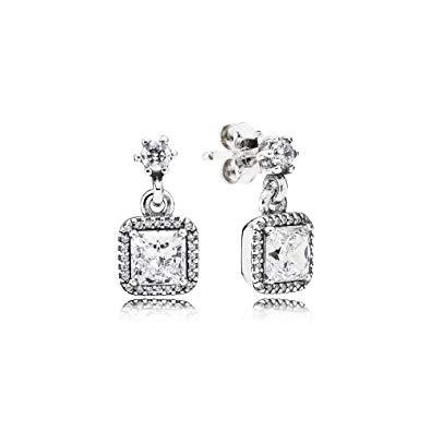 Pandora Timeless Elegance Dangling Earrings Earrings Pandora
