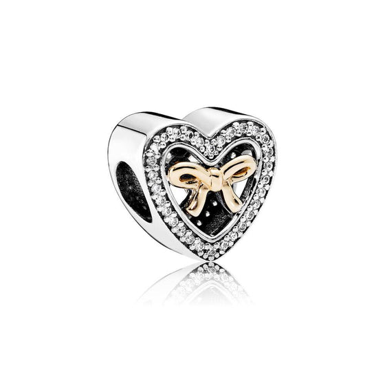 Pandora Two-Tone Bound by Love Charm Charms & Pendants Pandora