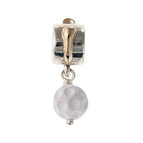 Pandora Two-Tone Golf Ball Dangle Charm Charms & Pendants Pandora