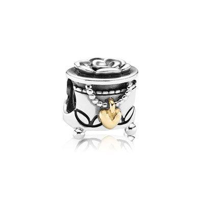 Pandora Two-Tone Pandora's Box Charm Charms & Pendants Pandora