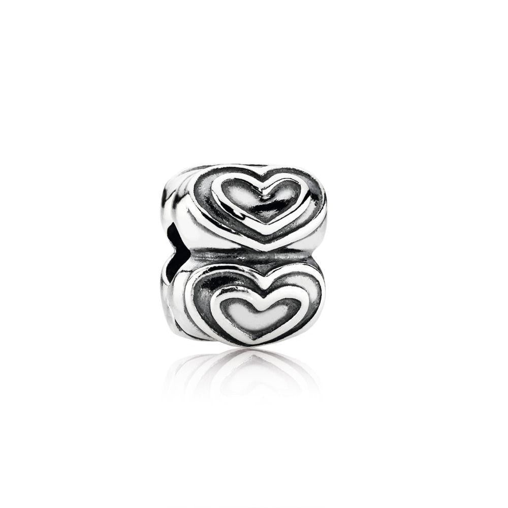 Pandora You're In My Heart Clip Charm Charms & Pendants Pandora