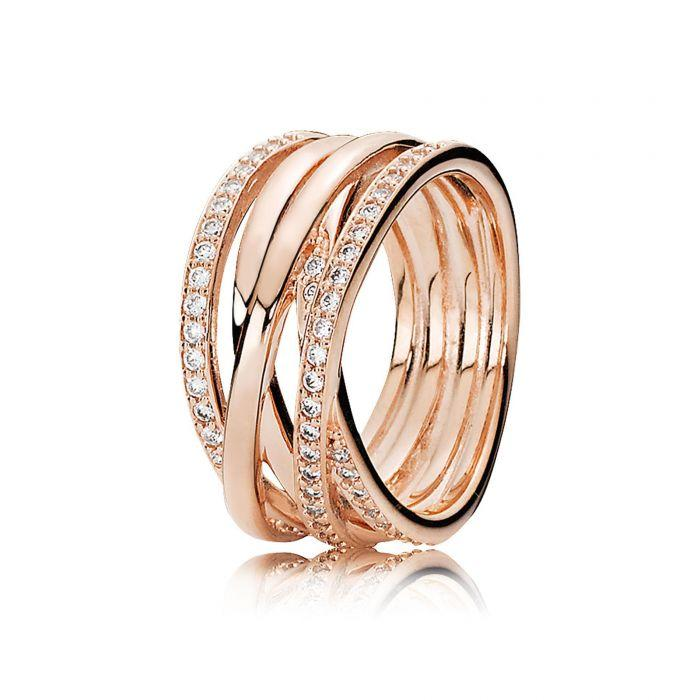 Pandora Rose Entwined Ring Rings Pandora