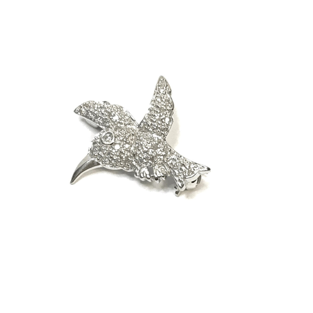 Pave Diamond Bird Brooch Brooches & Pins Miscellaneous