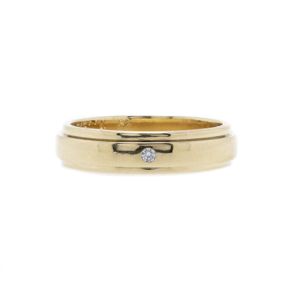 Piaget 18k Gold & Diamond Possession Wedding Band Ring Rings Piaget