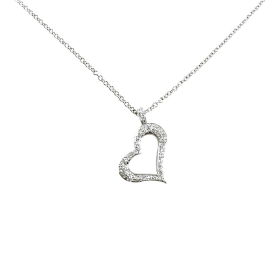 Piaget Diamond Heart Pendant Necklace Necklaces Piaget