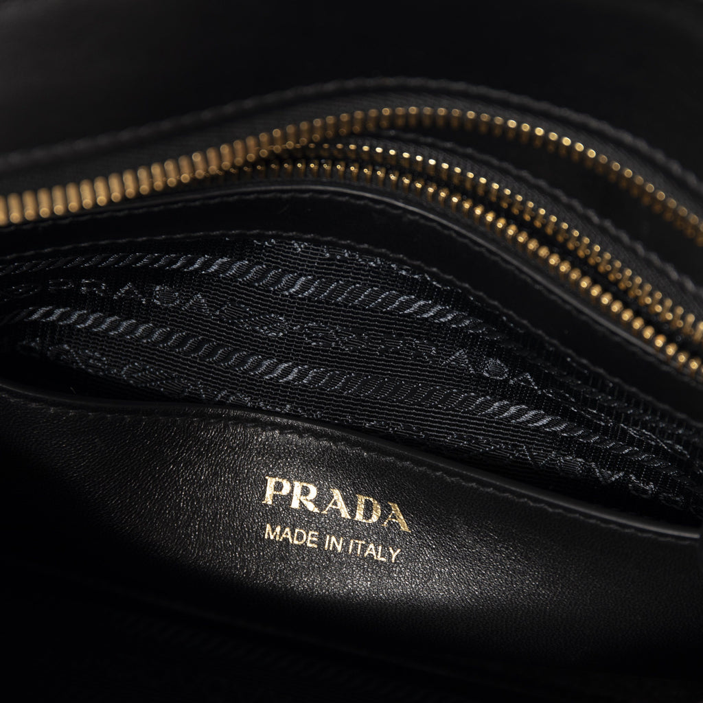 Prada Small Saffiano and City Calf Esplanade Bag Bags Prada