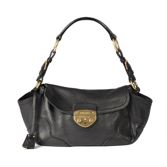 Prada Vitello Daino Easy Shoulder Bag Bags Prada