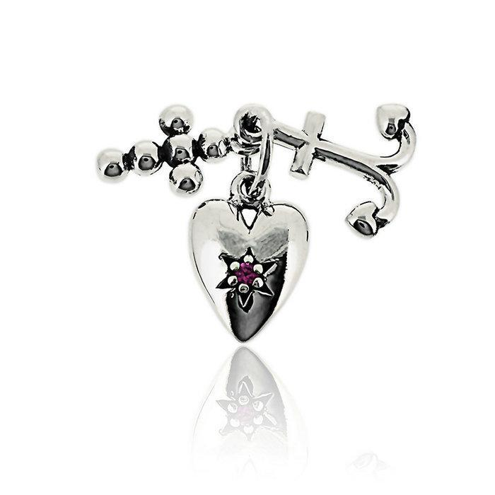 Pandora Faith, Hope, and Love Charm