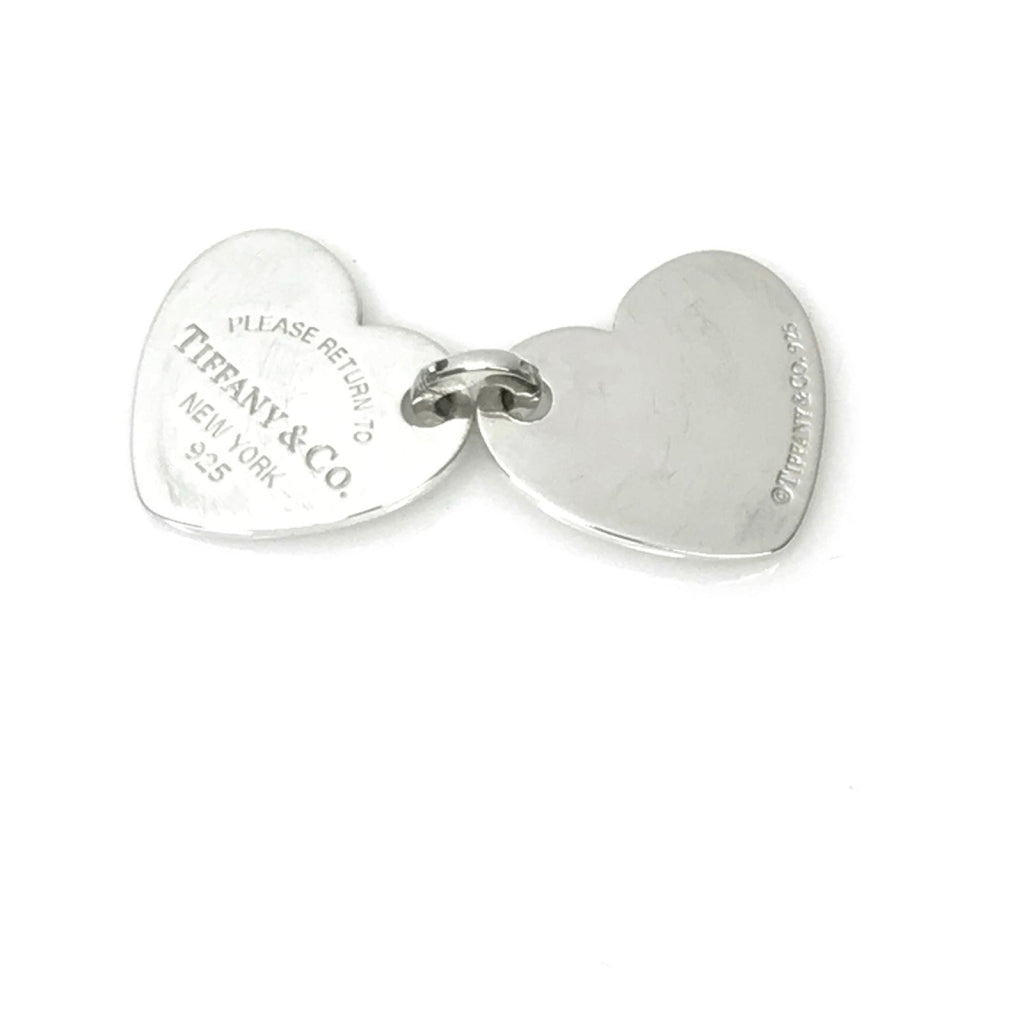 Return to Tiffany Double Heart Tag Pendant Charms & Pendants Tiffany & Co.