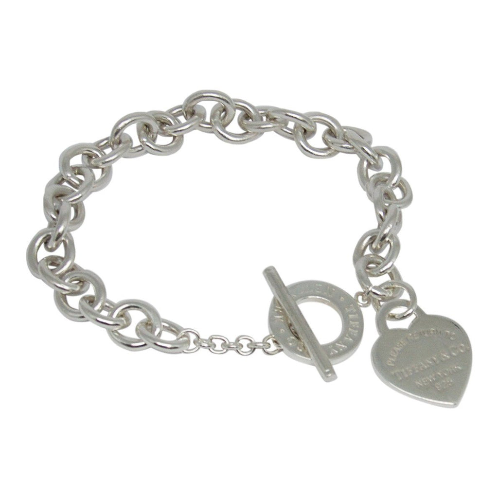Tiffany & Co. Return To Tiffany Heart Tag Charm Bracelet With Toggle Clasp - Bracelets