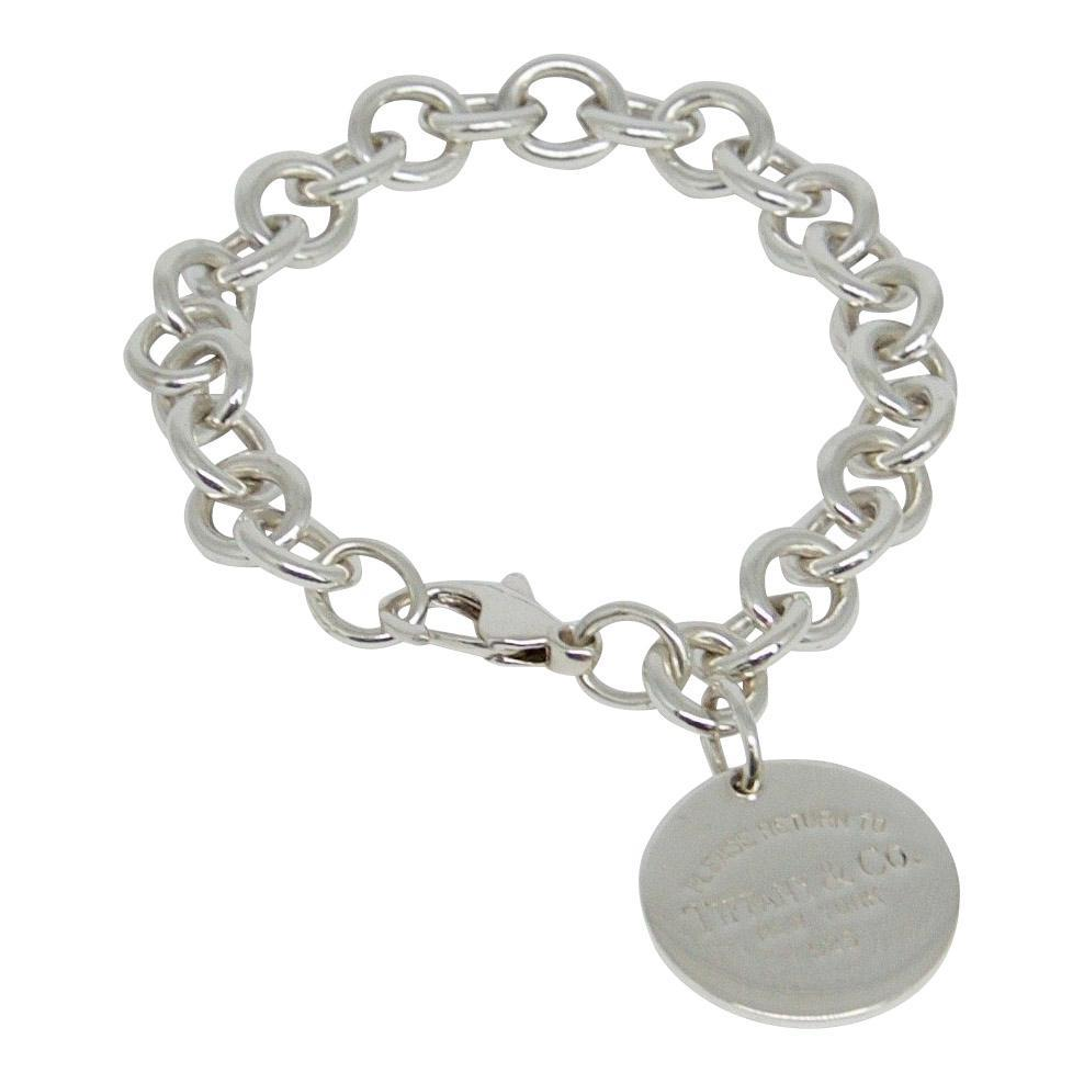 Tiffany & Co. Return To Tiffany Round Tag Charm Bracelet - Bracelets