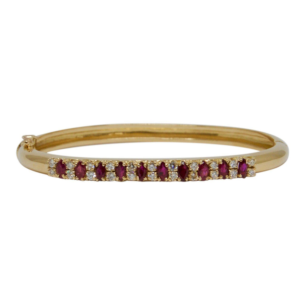 Ruby and Diamond Bangle Bracelets Miscellaneous