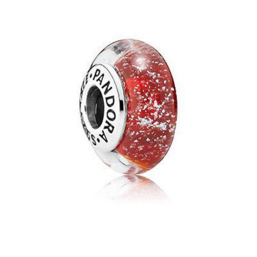 Pandora Disney Snow Whites Signature Colour Murano Glass Charm - Charms & Pendants