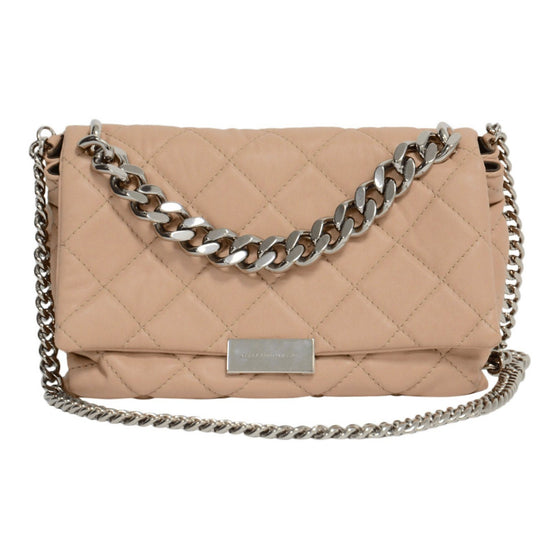 Stella McCartney Pink Soft Beckett Cross Body Bags Stella McCartney