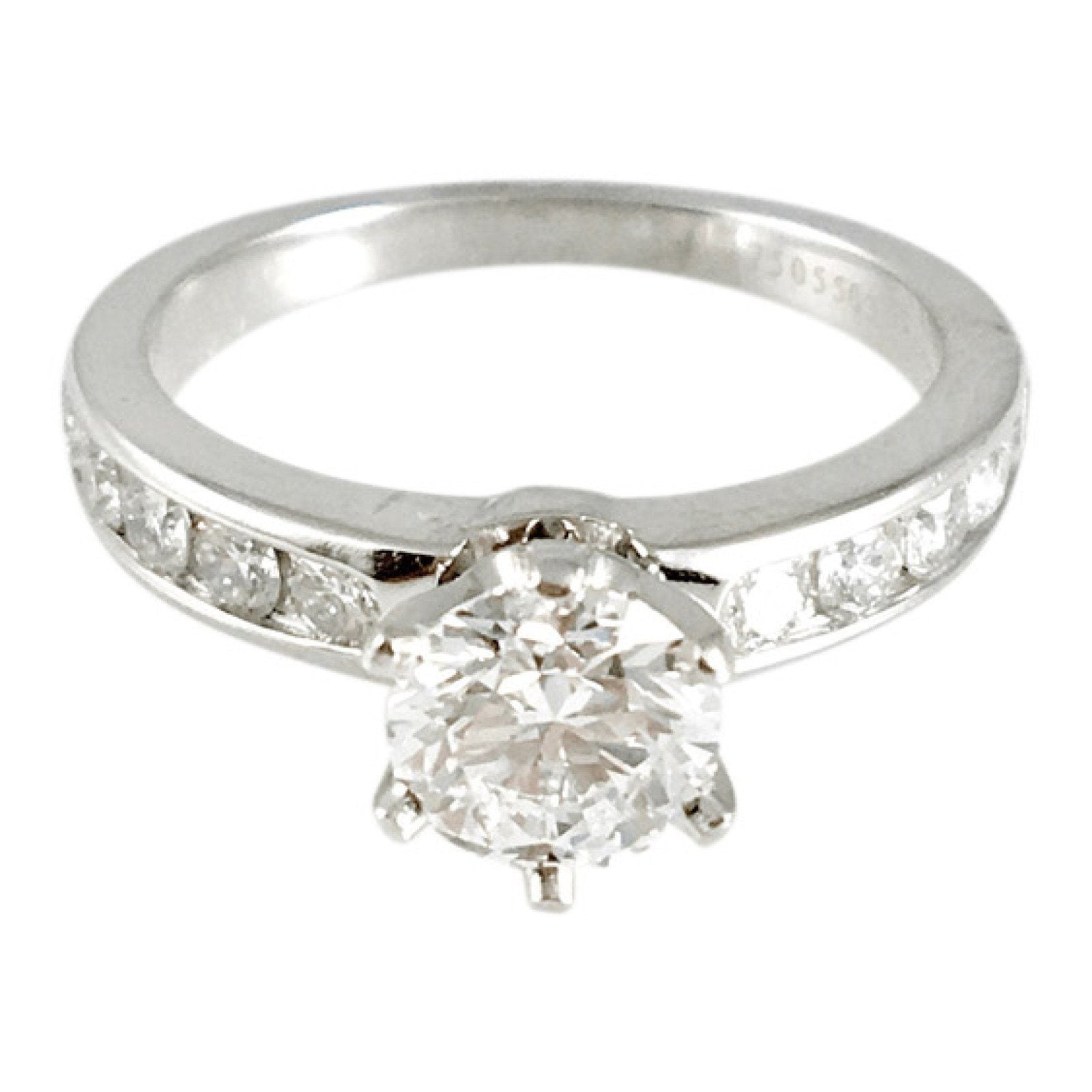 76a988f8c Tiffany & Co. 0.70ct Round Diamond Engagement Ring– Oliver Jewellery