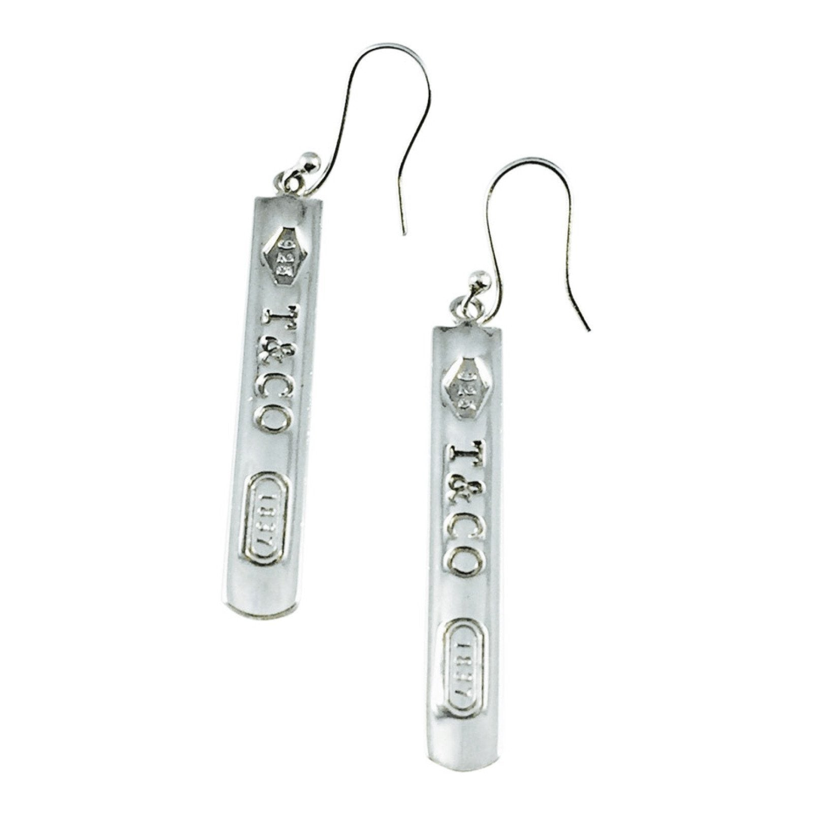 c9c3cced8 Tiffany & Co. 1837 Bar Drop Earrings– Oliver Jewellery