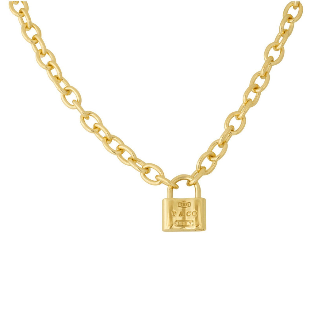 Tiffany & Co. 1837 Lock Charm Necklace Necklaces Tiffany & Co.