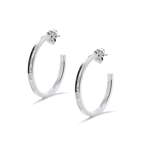 Tiffany & Co. 1837 Narrow Hoop Earrings Earrings Tiffany & Co.