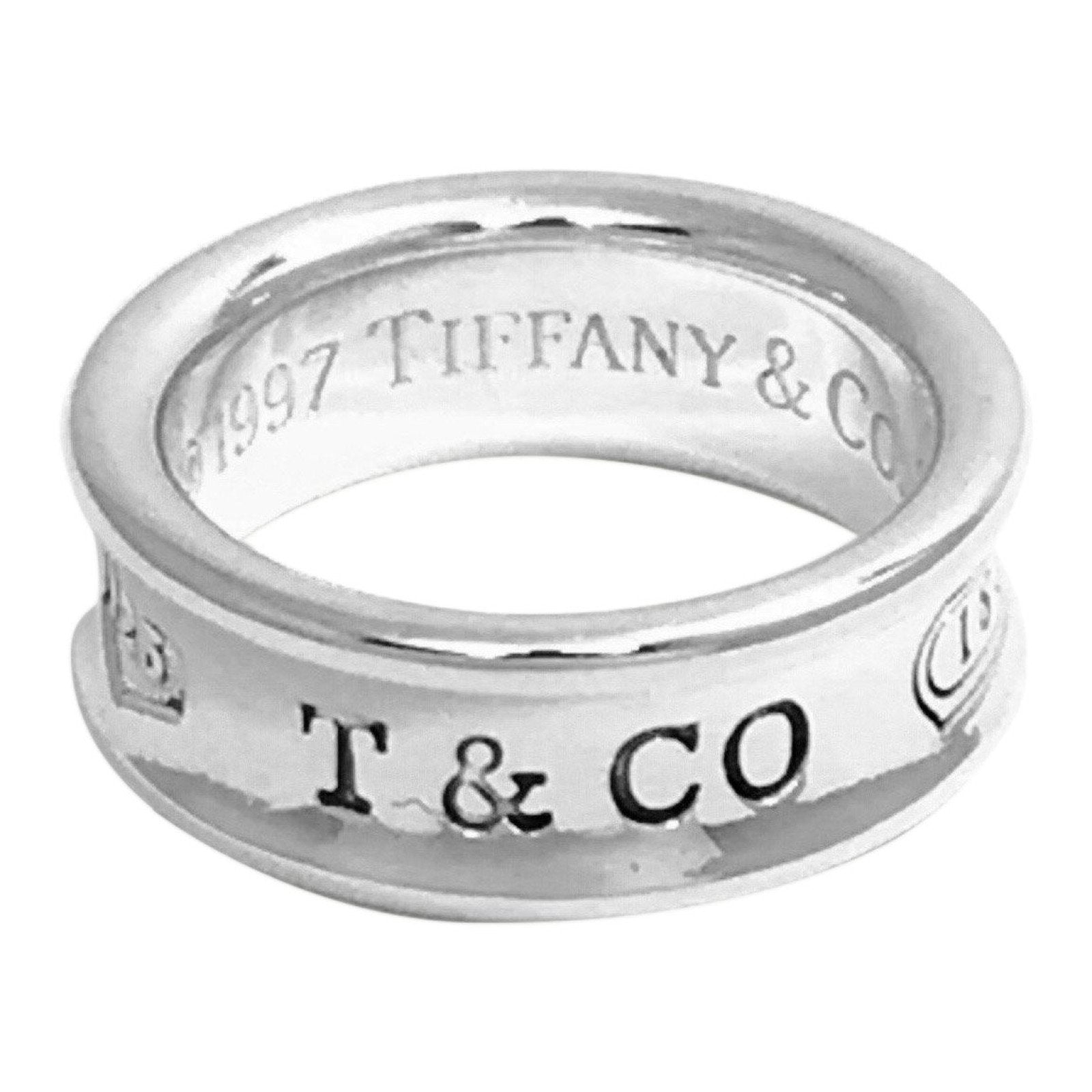 f369846e6 Tiffany & Co. 1837 Ring in Sterling Silver– Oliver Jewellery