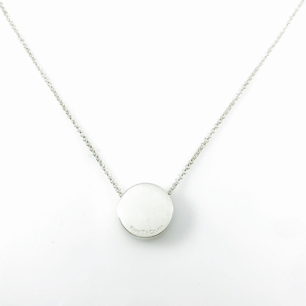 Tiffany & Co. 1837 Round Pendant Necklace Necklaces Tiffany & Co.