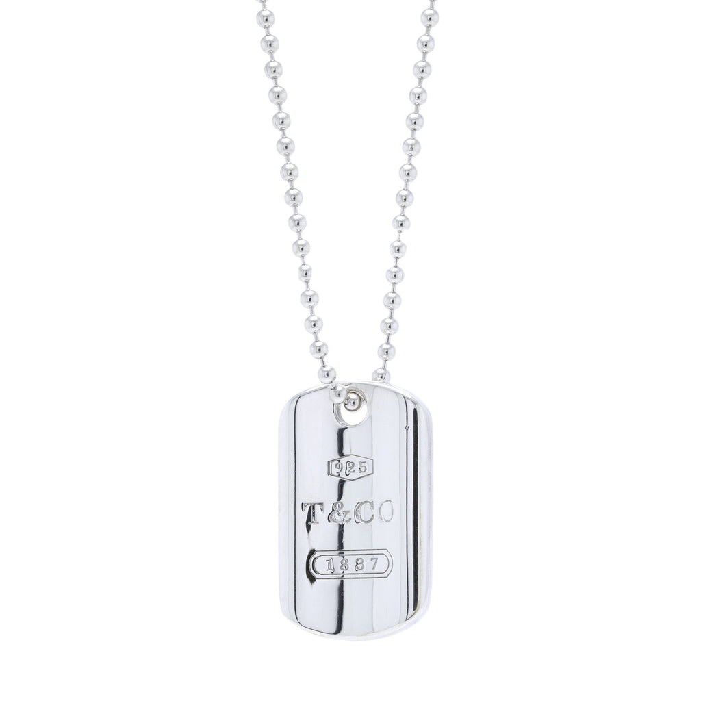 Tiffany & Co. 1837 Tag Pendant Necklace Necklaces Tiffany & Co.