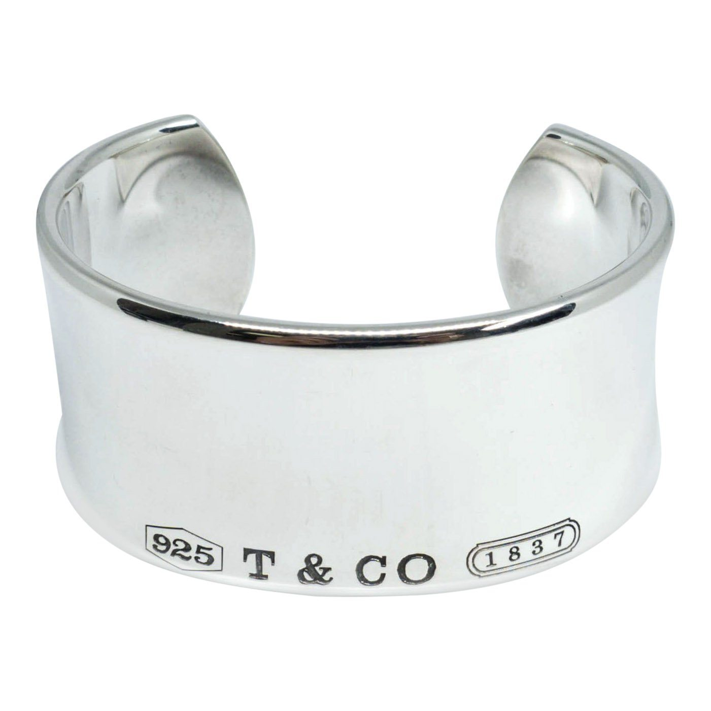 39834ecb3 Tiffany & Co. 1837 Wide Cuff– Oliver Jewellery