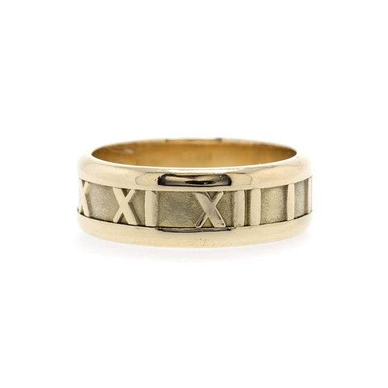 Tiffany & Co. 18K Gold Atlas Band Ring Rings Tiffany & Co.