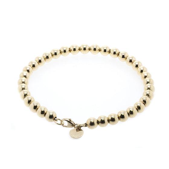 Tiffany & Co. 18k Gold HardWear Bead Bracelet Bracelets Tiffany & Co.