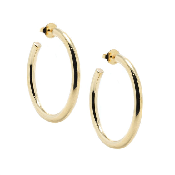 Tiffany & Co. 18k Gold Hoop Earrings Earrings Tiffany & Co.