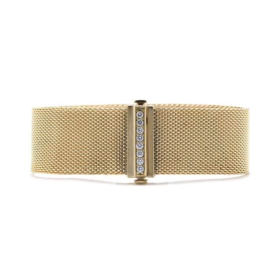 Tiffany & Co. 18k Gold Somerset Bracelet with Diamonds Bracelets Tiffany & Co.