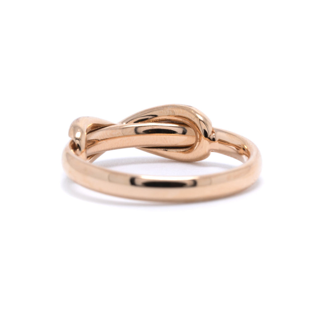 Tiffany & Co. 18k Rose Gold Infinity Ring Rings Tiffany & Co.