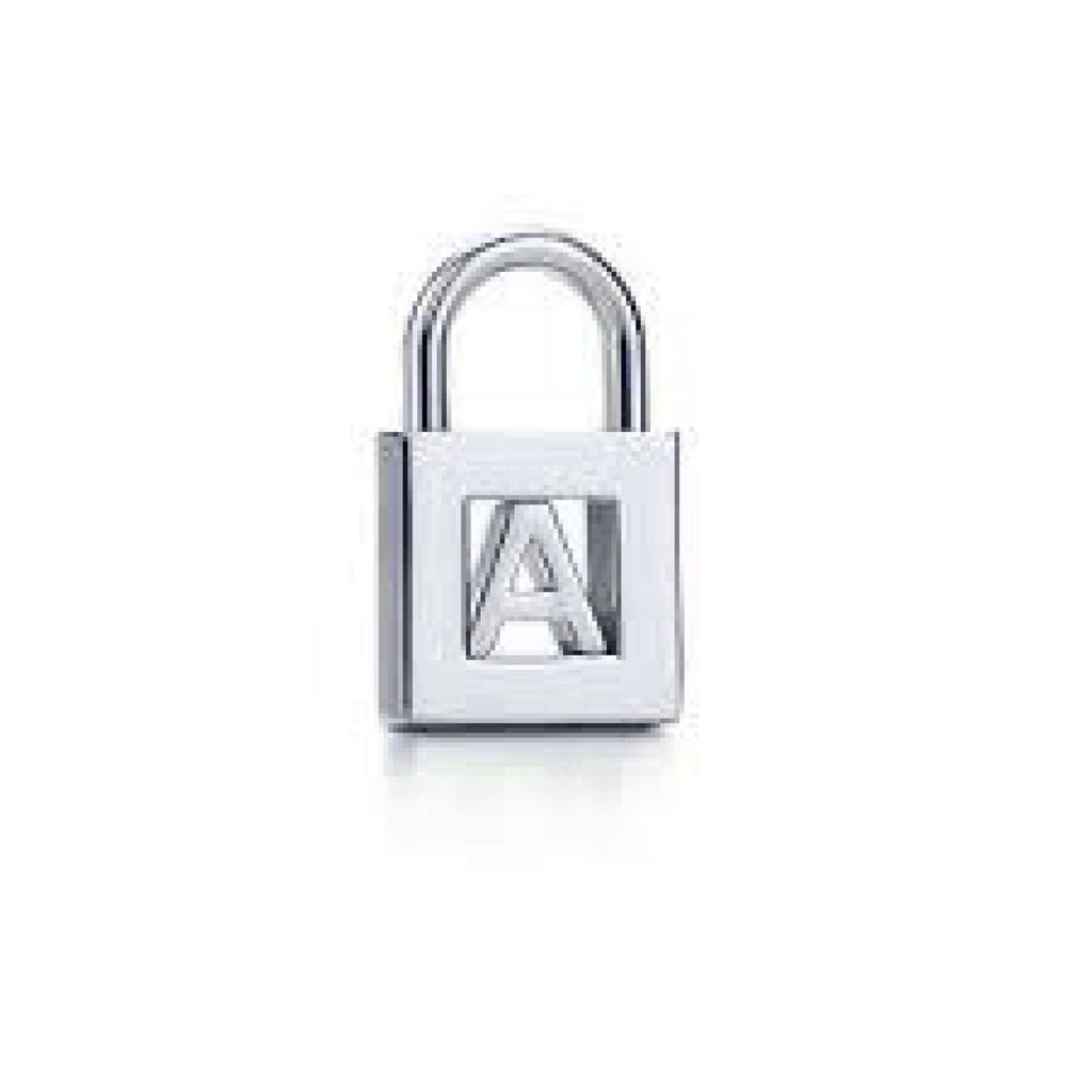 "Tiffany & Co. ""A"" Letter Lock Charm Charms & Pendants Tiffany & Co."