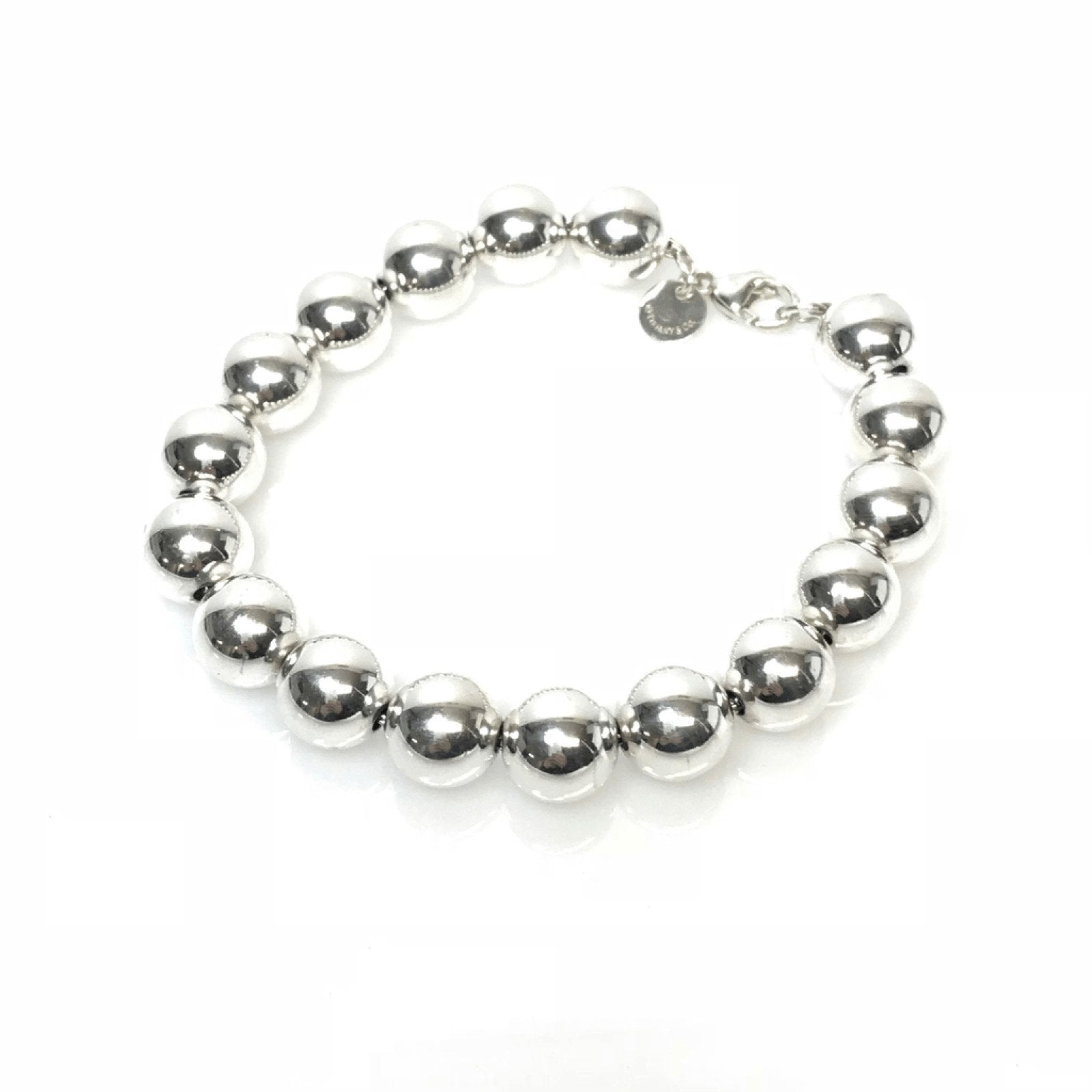 a9a00920a Tiffany & Co. Bead Bracelet in Sterling Silver– Oliver Jewellery