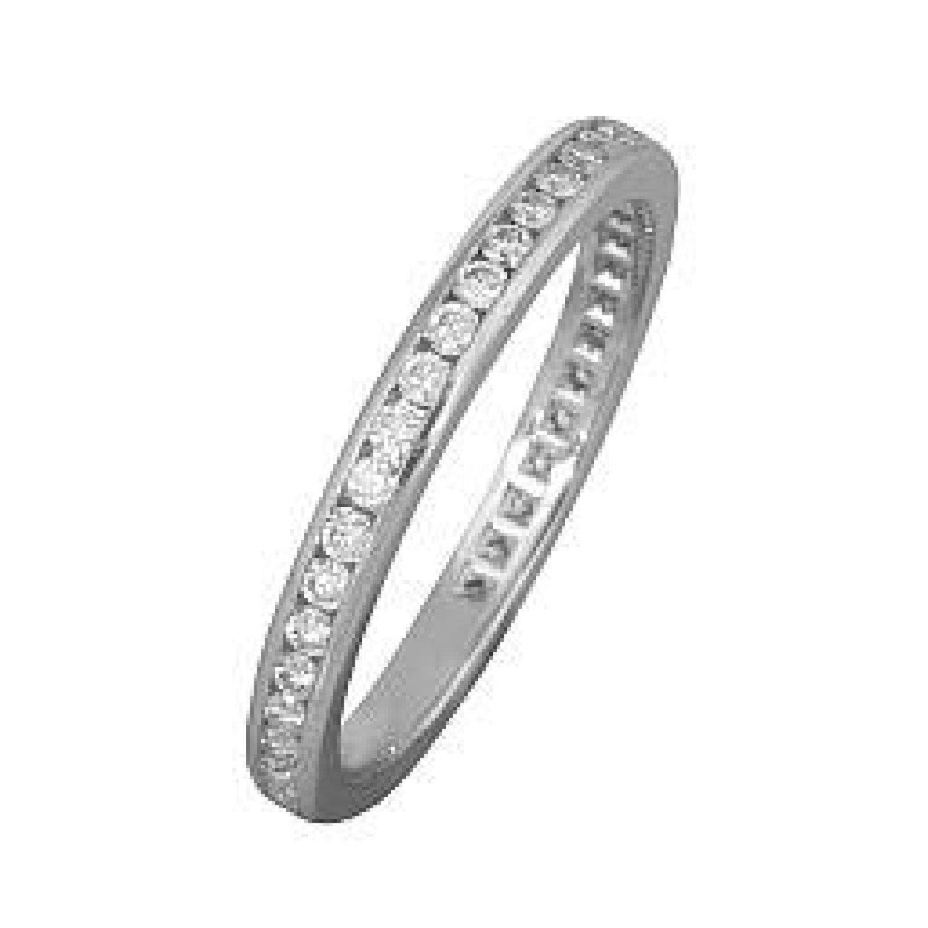 Tiffany & Co. Channel-Set Diamond Eternity Band Rings Tiffany & Co.