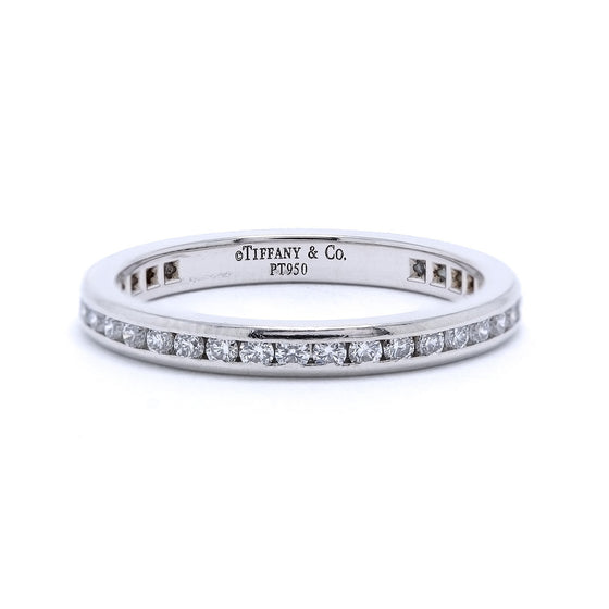 Tiffany & Co. Channel-Set Diamond Eternity Wedding Band Ring Rings Tiffany & Co.