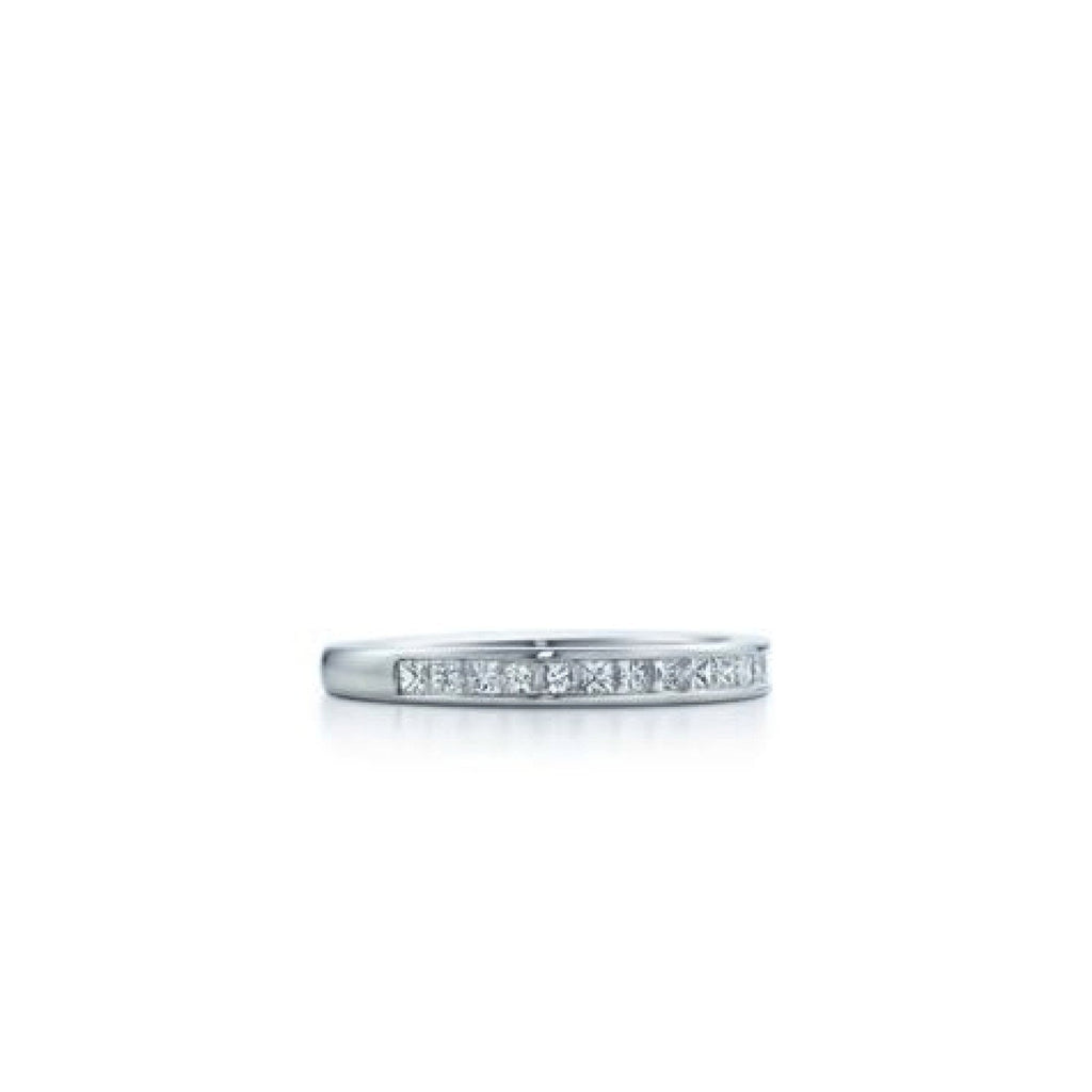 Tiffany & Co. Channel-Set Diamond Half Circle Ring Rings Tiffany & Co.