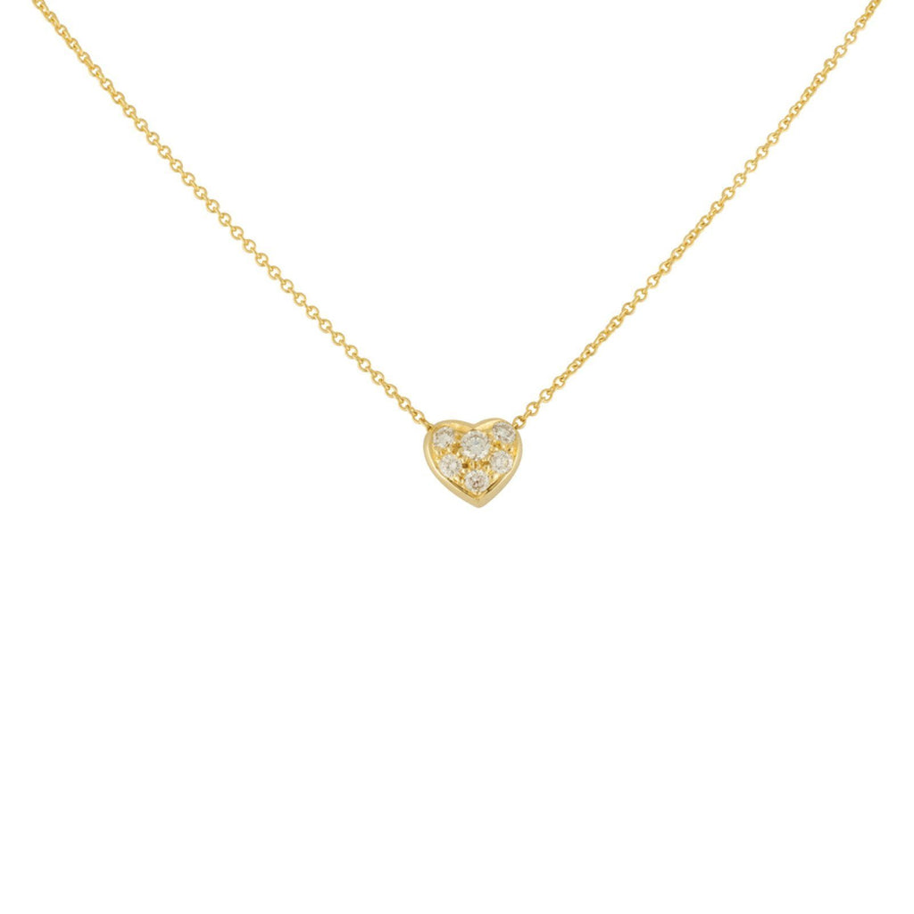 Tiffany & Co. Diamond Heart Pendant Necklace Necklaces Tiffany & Co.