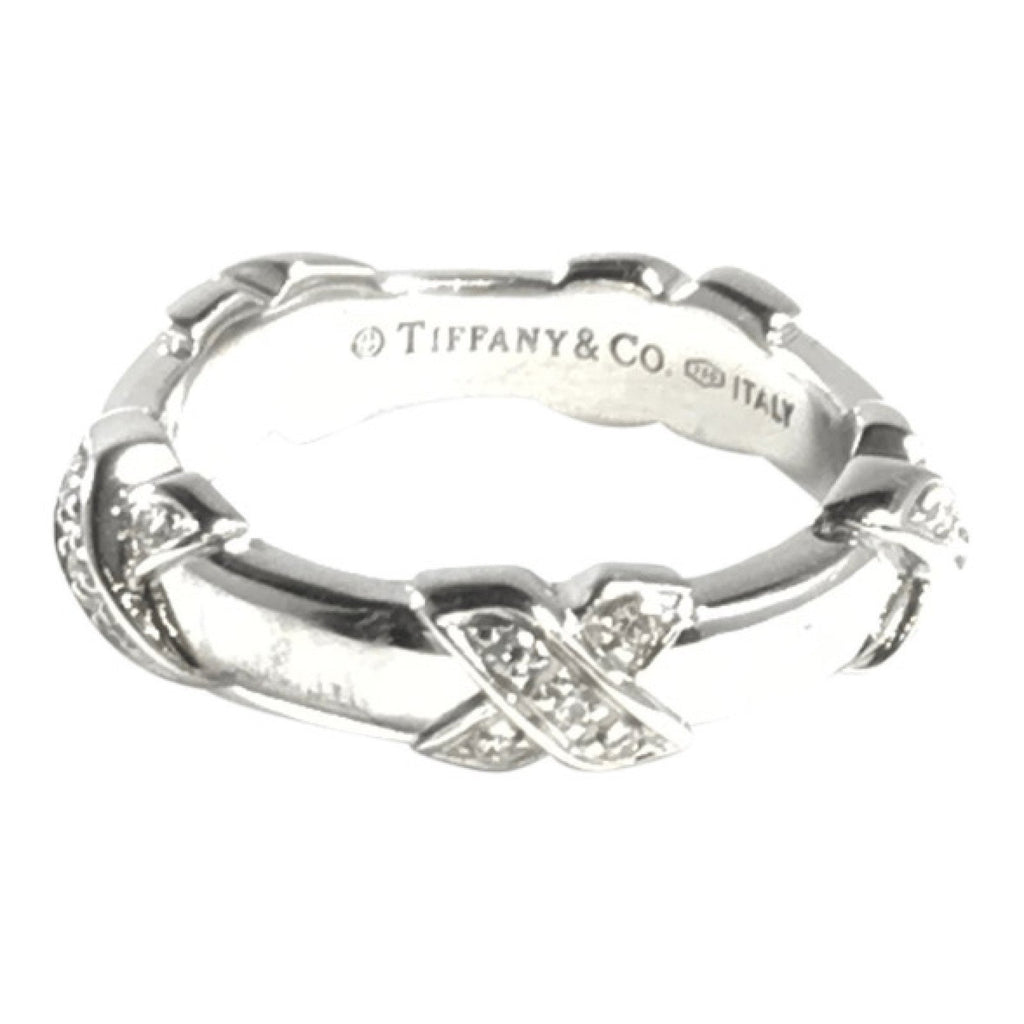 Tiffany & Co. Diamond X Ring Rings Tiffany & Co.