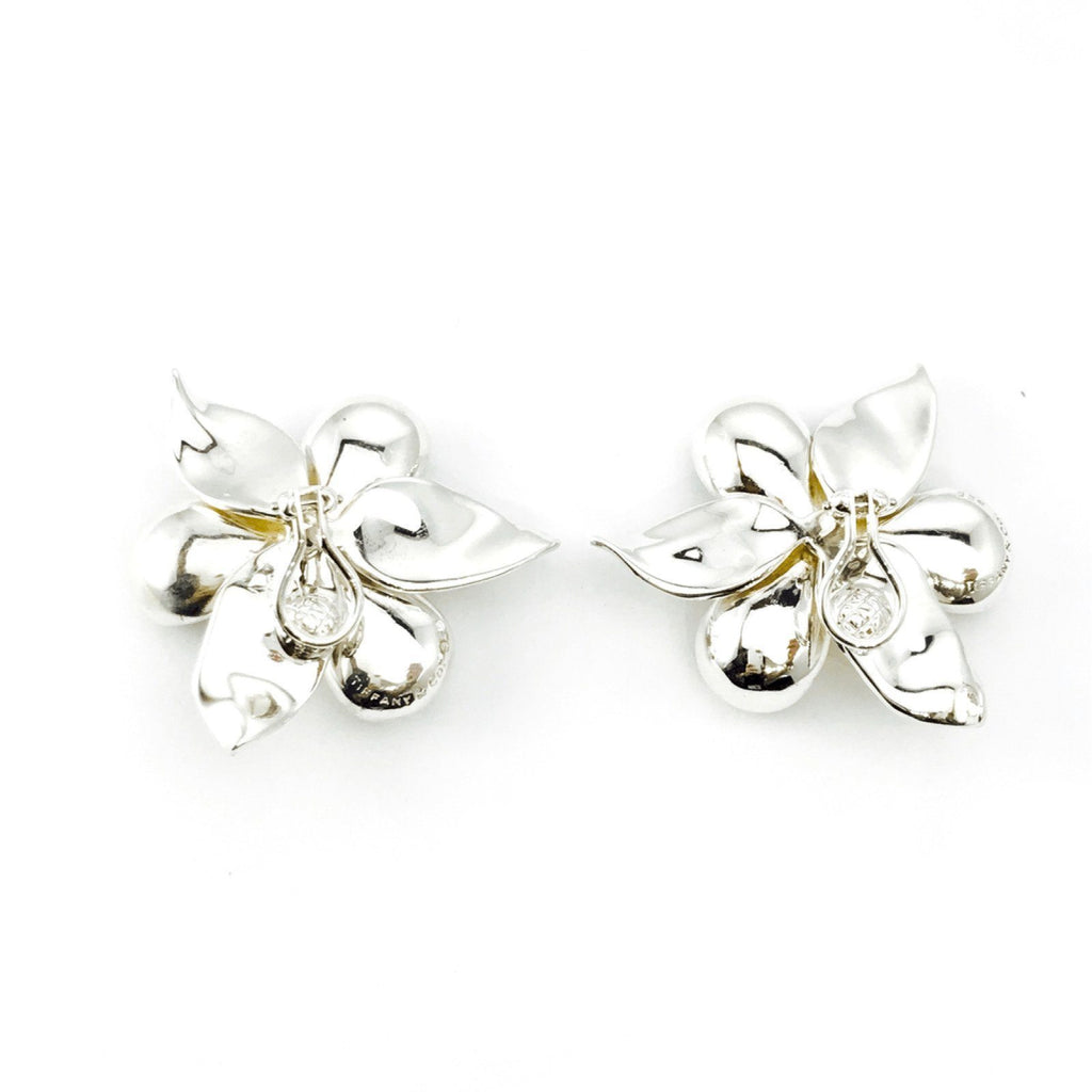 Tiffany & Co. Dogwood Clip-On Earrings Earrings Tiffany & Co.