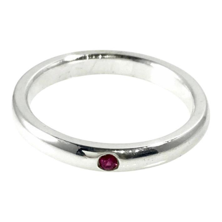 Tiffany & Co. Elsa Peretti Band Ring with Ruby Rings Tiffany & Co.