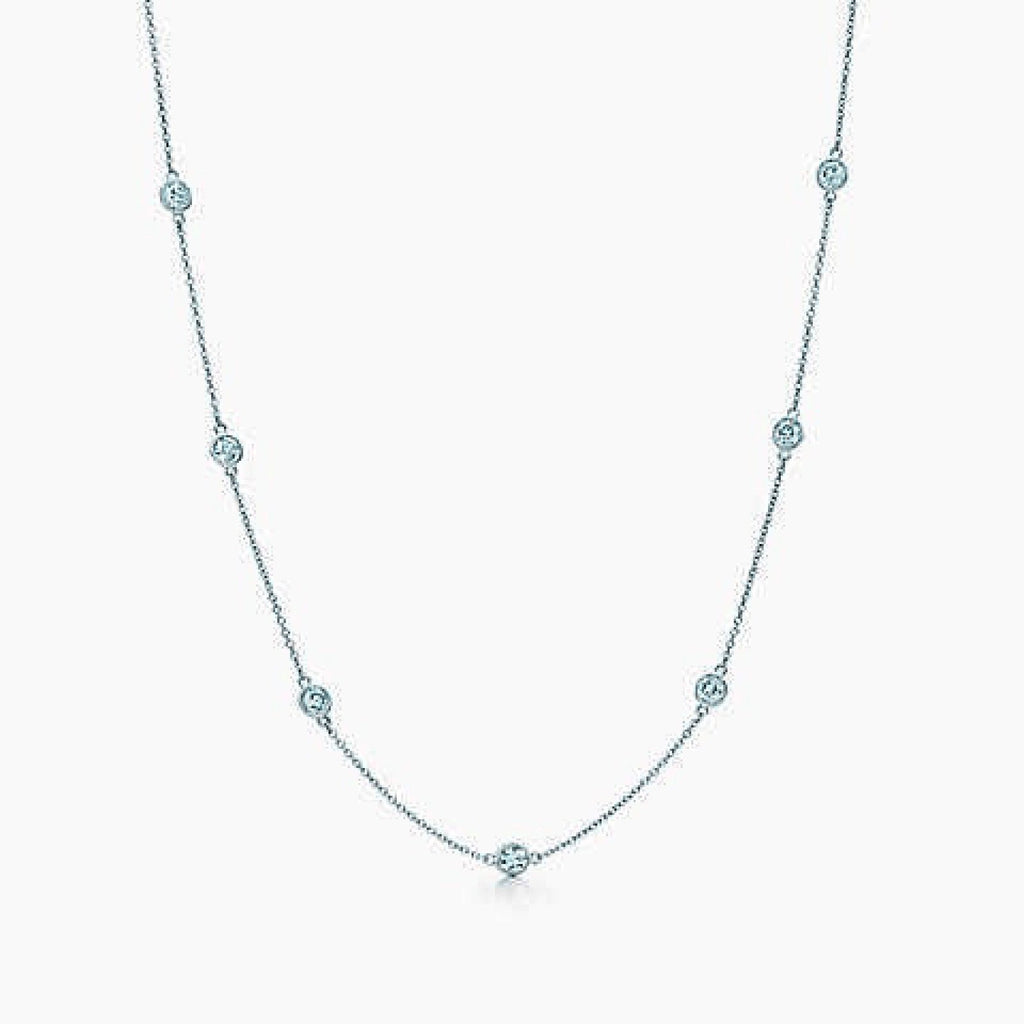 Tiffany & Co. Elsa Peretti Diamonds by the Yard Necklace Necklaces Tiffany & Co.