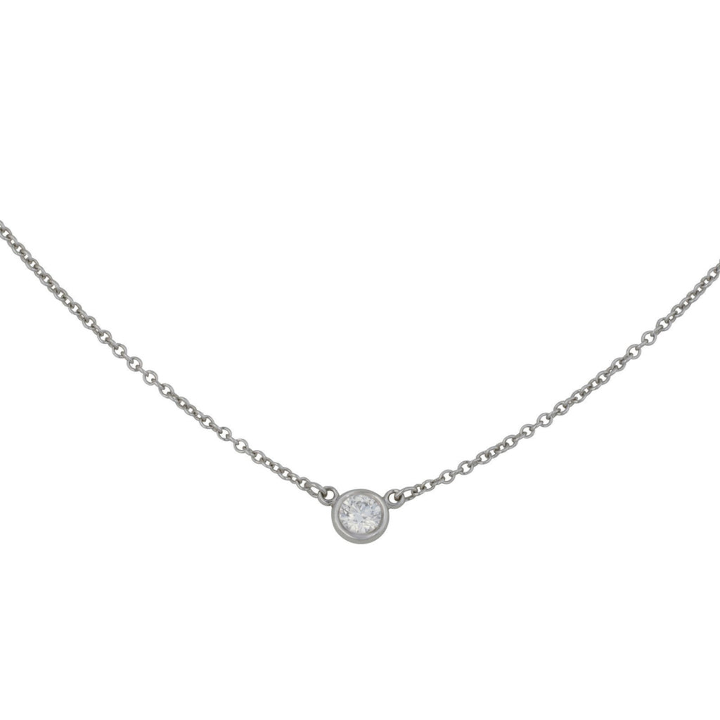 Tiffany & Co. Elsa Peretti Diamonds by the Yard Pendant Necklace Necklaces Tiffany & Co.