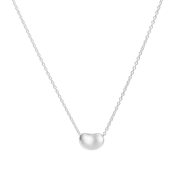 Tiffany & Co. Elsa Peretti Mini Bean Pendant Necklace Necklaces Tiffany & Co.