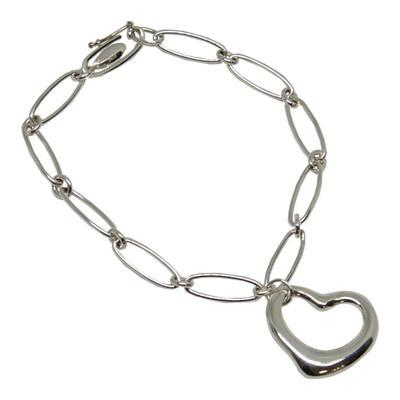 Tiffany & Co. Elsa Peretti Open Heart Charm Bracelet Bracelets Tiffany & Co.