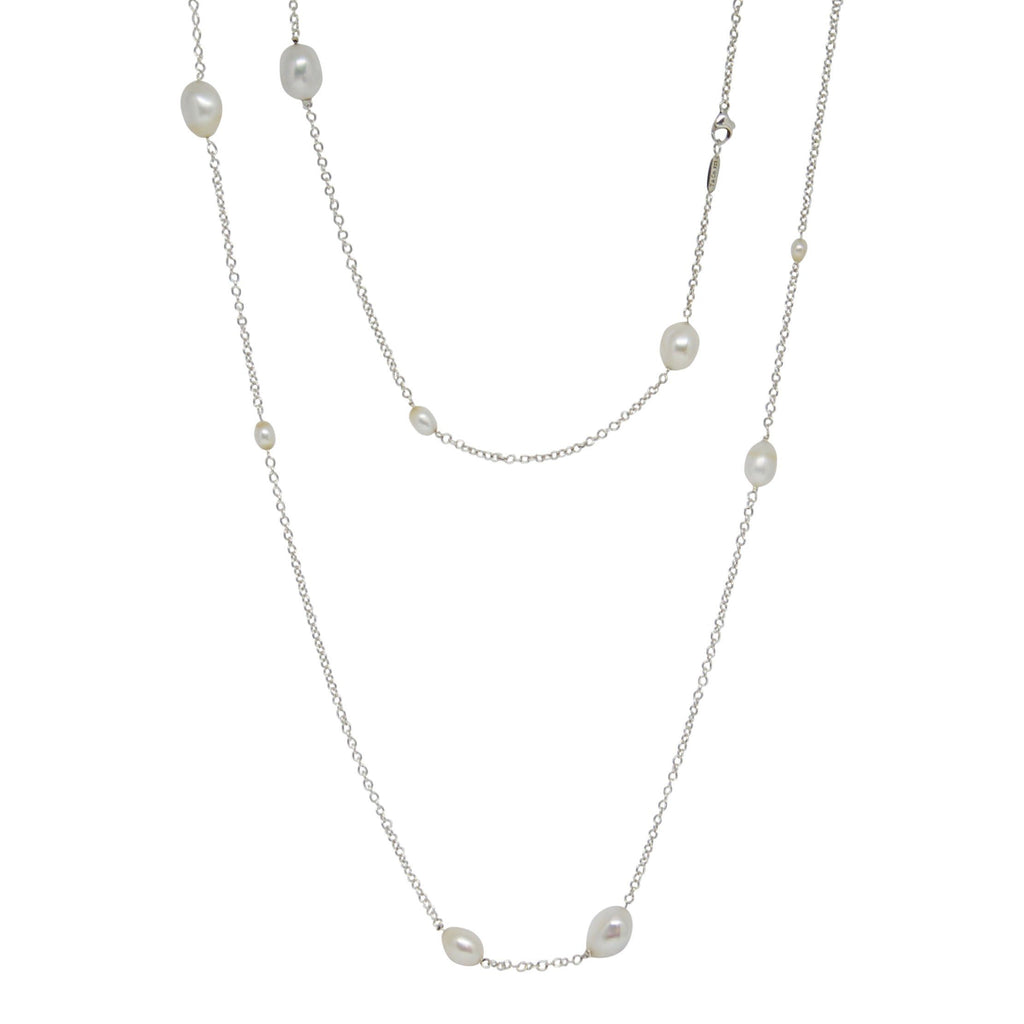 Tiffany & Co. Elsa Peretti Pearls by the Yard Sprinkle Necklace Necklaces Tiffany & Co.